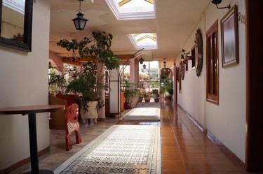 Vista del pasillo del hotel Barrio Antiguo