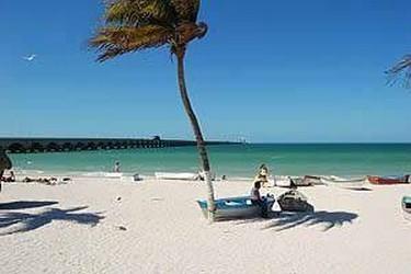 Playa de Uaymitun en Yucatán, México
