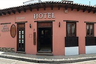 Fachada del hotel Grand María
