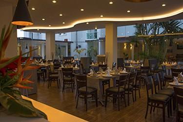 Vista interior del restaurante