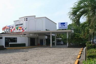 Fachada del Hotel Tulijá Palenque