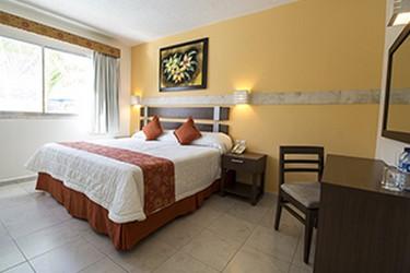 Vista de la habitación con cama King Size