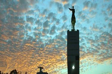 Monumento Ignacio Zaragoza en los Fuertes de Puebla