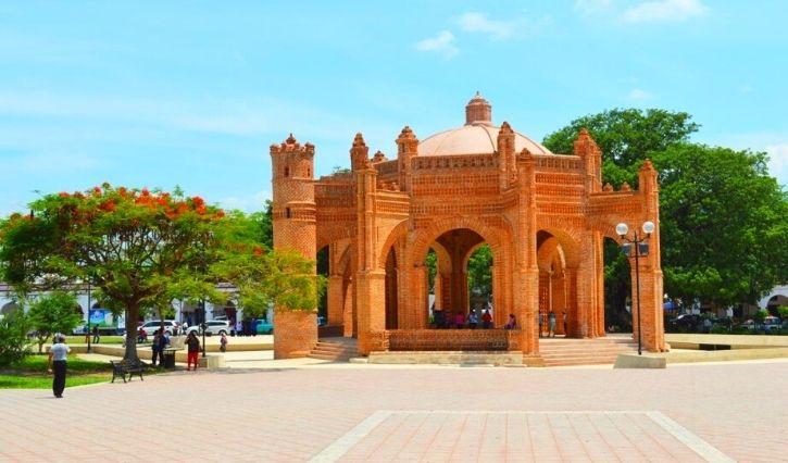 Monumento histórico de la Pila en Chiapa de Corzo