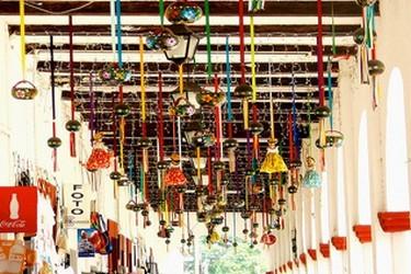 Los portales de Chiapa de Corzo, venta de artesanías