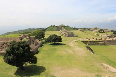 The Great Place of Monte Albán