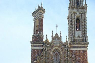 Iglesia del Siglo XVI de San Francisco Acatepec