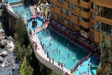 Vista aerea de piscinas en Chignahuapan