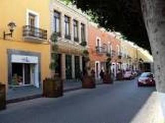 Avenida prinicipal de Tlaxcala