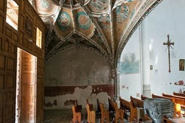 Interior de la Iglesia franciscana