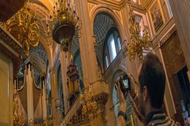 Interior de convento franciscano