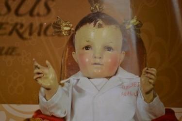 Imagen en el santuario del niño doctorcito