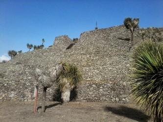 Zona Arqueologica de Cantona en Puebla