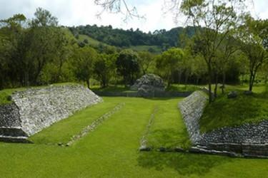 Zona de Juego de pelota maya