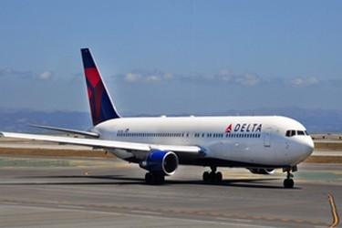 Avión en el aeropuerto