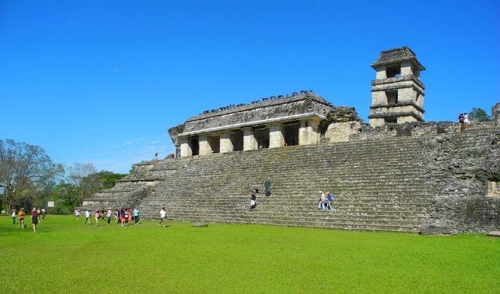 Palacio de gobierno maya