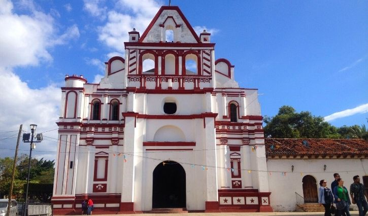 Iglesia Principal del pueblo magico de Chiapa de Corzo