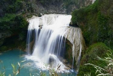 Vista de la cascada El Suspiro