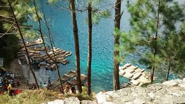 Lanchas para realizar recorridos por el lago