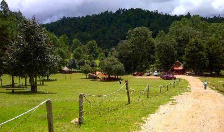Vista panoramica del parque Rancho Nuevo