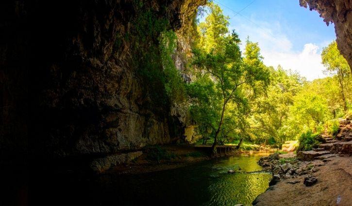 Parque ecoturistico el Arcotete podeado de naturaleza y belleza