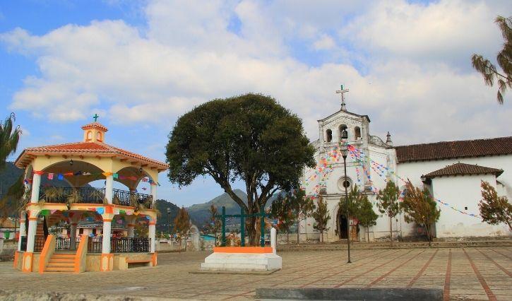 Iglesia del municipio de Zincantán