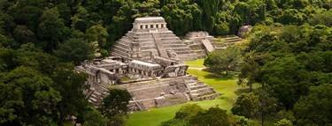 Importante zona arqueologica maya