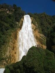 Vista de las cascadas Velo de Novia