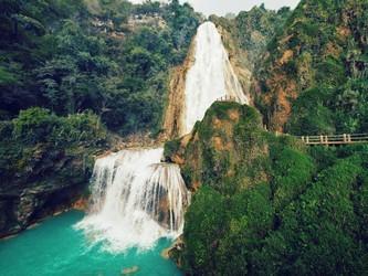 Impresionantes Cascadas El Chiflon