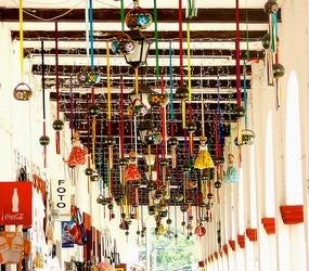 Corredor artesanal en Chiapa de Corzo