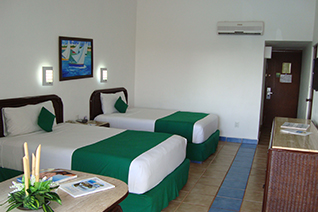 Internal view of the double room