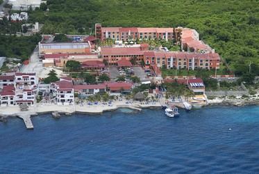 Aerial view of Hotel Cozumel & Resort