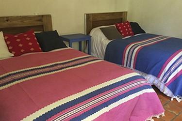 Con 2 camas matrimoniales