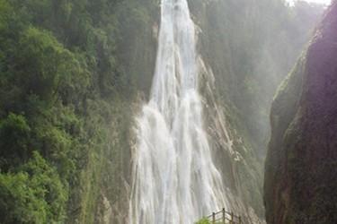 Cascada principal del Chiflón
