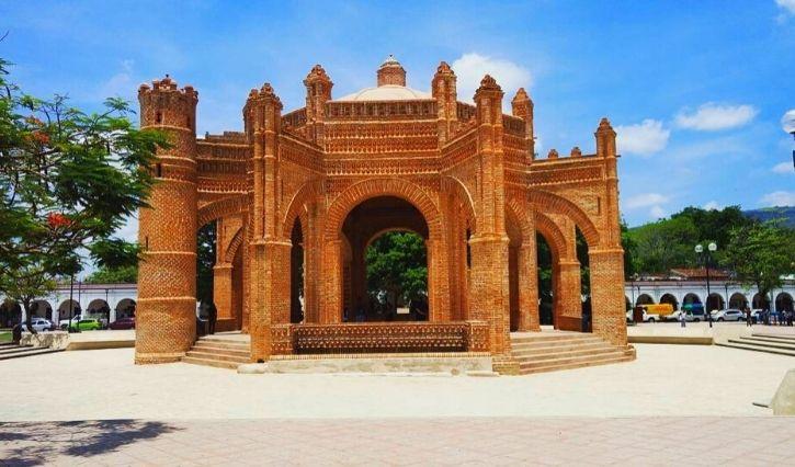 Monumento histórico en Chiapa de Corzo