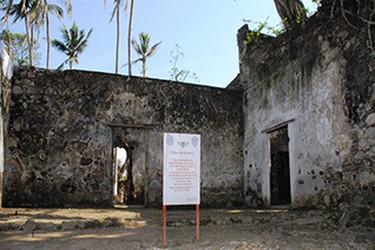 Fachada de la antigua casa de Cortés