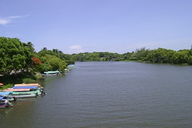 Vista panorámica Rio de la Antigua
