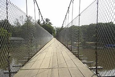 Puente colgante Rio de la Antigua