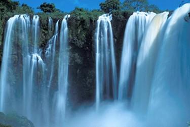 Cascada de Eyipantla, casa del dios Tláloc