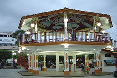 Kiosco en el Zócalo de Papantla, Veracruz