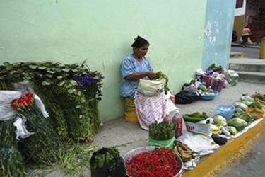 Mercado tradicional de Papantla