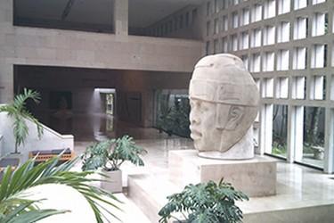 Entrada al Museo de Antropología