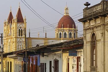 Vista de la Iglesia del Calvario, Coatepec