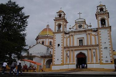 Iglesia de la Magdalena en Xico