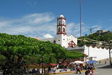 Parque Central de Papantla, Veracruz