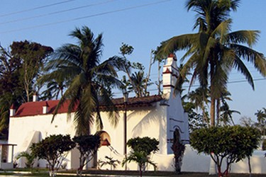 Capilla del Rosario, en Antigua, Veracruz