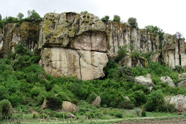 Petroglifos de Yagul en Oaxaca