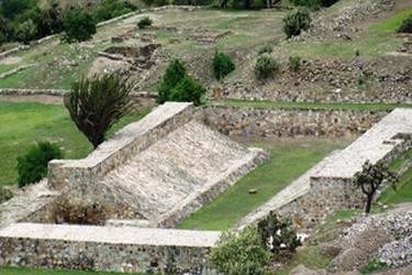 Zona Arqueológica de yagul en Oaxca