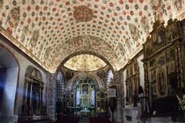 vista interna de la Iglesia de Tlacochahuaya