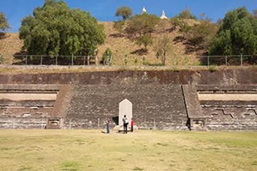 Zona arqueológica de Cholula en Puebla